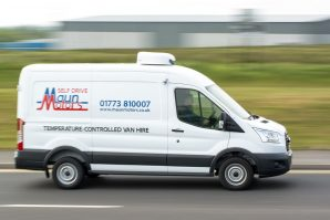 Refrigerated Van Hire - Chiller with 240v Standby Electric Plug-In, Derby