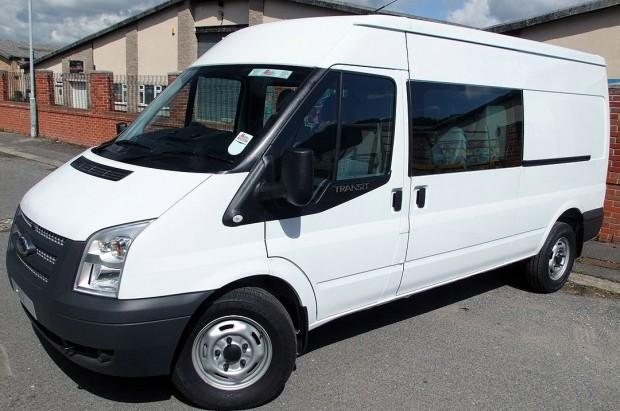 Transit LWB Crew Cab Van Rental 01