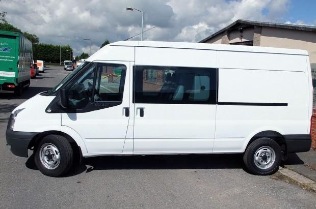 Transit LWB Crew Cab Van Rental 02