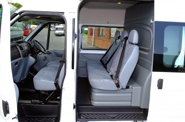 Transit LWB Crew Cab Van Rental 03