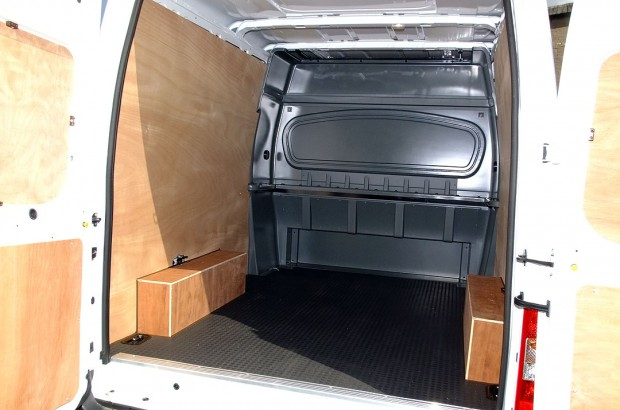 Transit LWB Crew Cab Van Rental 05