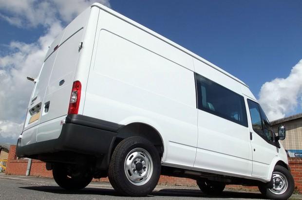 Transit LWB Crew Cab Van Rental 06