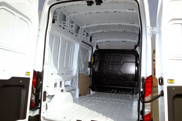 Transit LWB High Roof Panel Van Rental 03