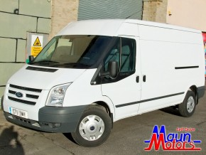 Van hire East Midlands - Transit LWB Medium Roof Long Wheelbase Panel Van Hire East Midlands - Van Rental from Maun Motors Self Drive van rental