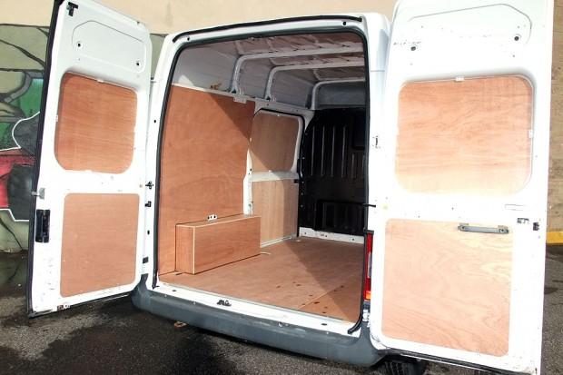 Transit SWB Medium Roof Panel Van Rental 03
