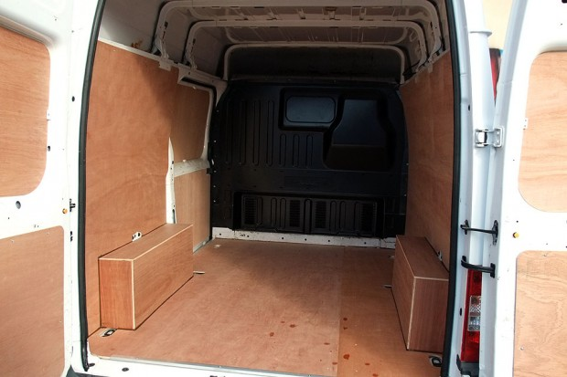 Transit SWB Medium Roof Panel Van Rental 04