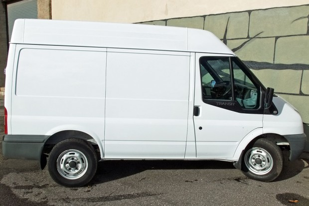 Transit SWB Medium Roof Panel Van Rental 06