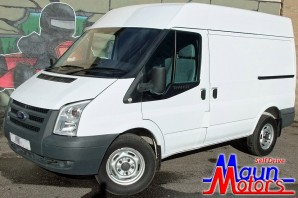Van Hire - Transit SWB Panel Van Rental from Maun Motors Self Drive Derbyshire