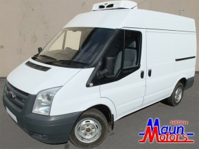 Chiller Fridge Van Hire from Maun Motors Self Drive refrigerated van rental, Chesterfield