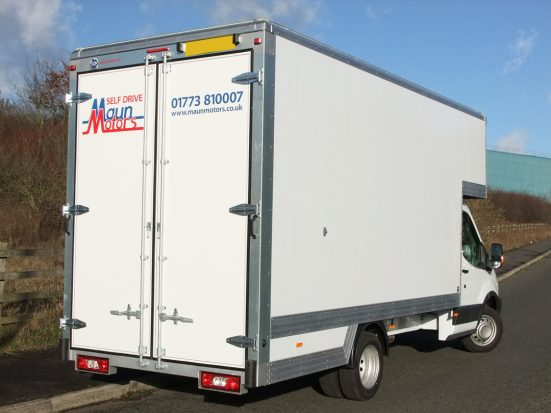 Dropwell luton removals box van hire. Large capacity luton van