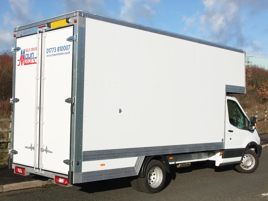 Self Drive Luton Box Van Hire