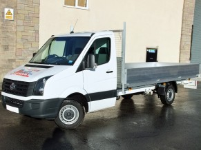 Extra long dropside hire - 16 foot XXL 3.5 tonne Dropside Van Hire - VW Crafter rental