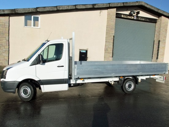 VW Crafter 16 foot Dropside Rental 02
