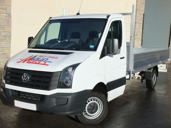 VW Crafter 16 foot Dropside Rental 03
