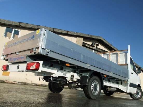 VW Crafter 16 foot Dropside Rental 14