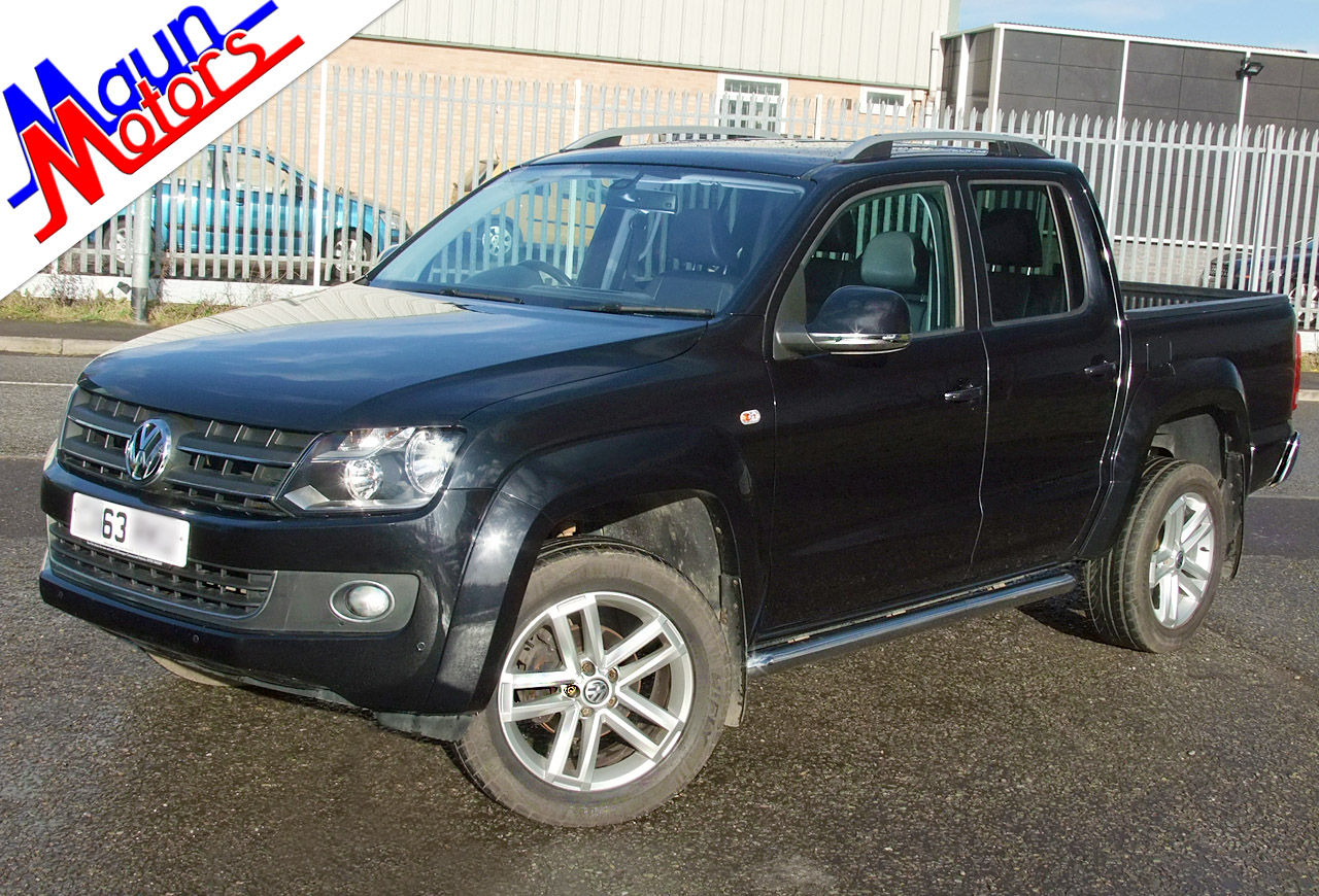 VW Amarok used 4x4 pick-ups for sale