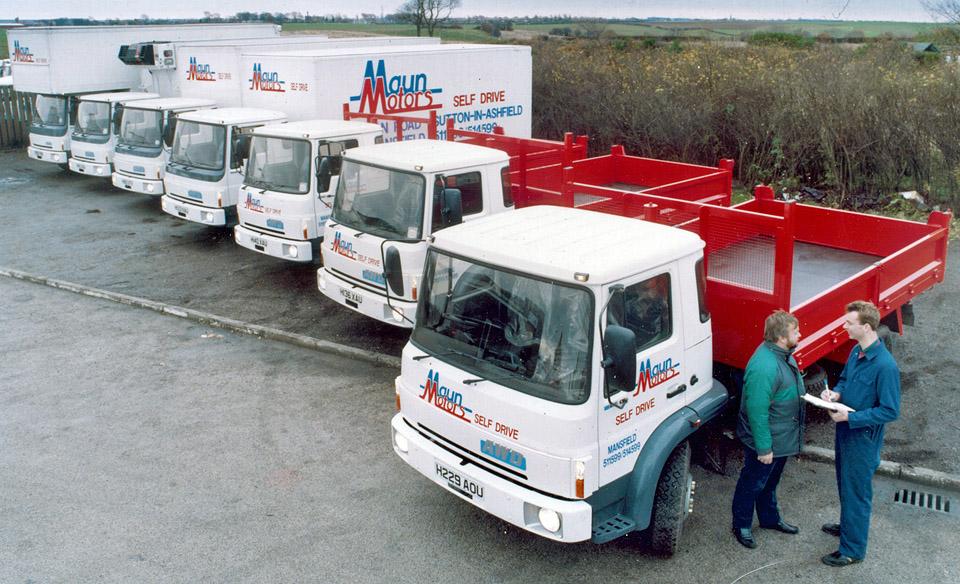 New Maun Motors Hire Lorries