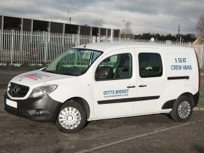 Small crew van hire - self drive crew cab small van rental