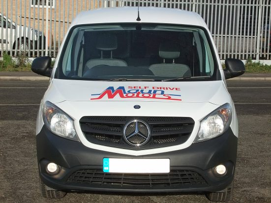 Mercedes-Benz Citan Dualiner small crew van hire - crew cab small van rental 13