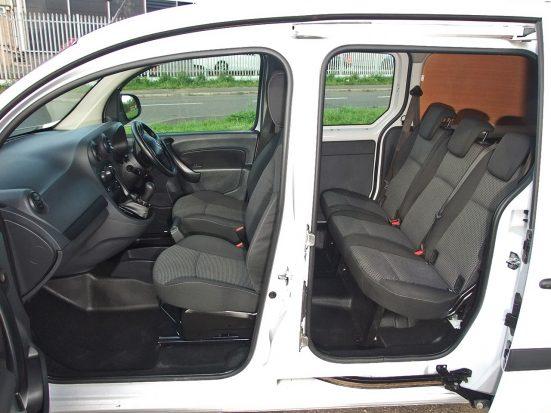 Mercedes-Benz Citan Dualiner small crew van hire - crew cab small van rental 18