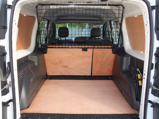 Mercedes-Benz Citan Dualiner small crew van hire - crew cab small van rental 26