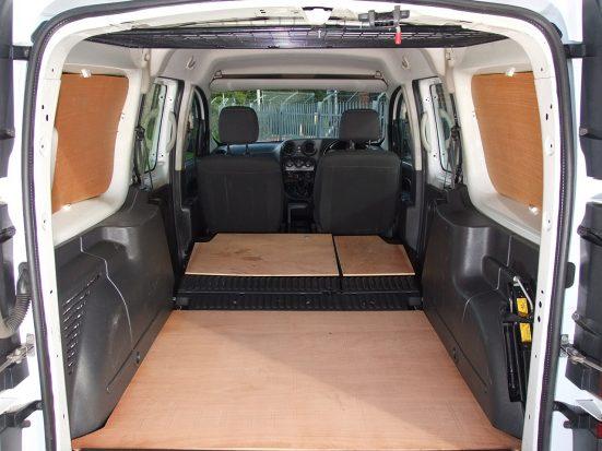 Mercedes-Benz Citan Dualiner small crew van hire - crew cab small van rental 29