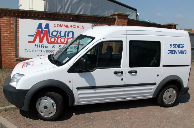 Ford Transit Connect 5 Seat Small Crew Cab Van 02