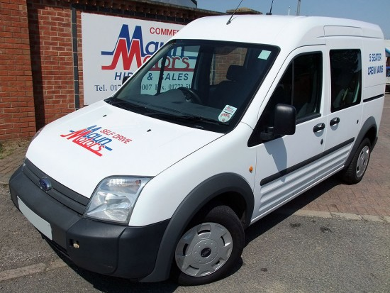 Ford Transit Connect 5 Seat Small Crew Cab Van 03