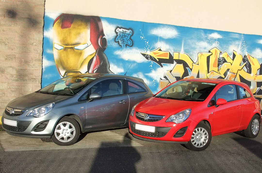 Car Rental - 3-Door Hatchback - e.g. Vauxhall Corsa, Ford Fiesta