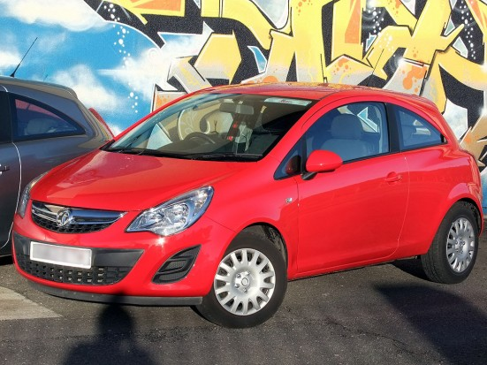Vauxhall Corsa Hatchback Car Rental 02
