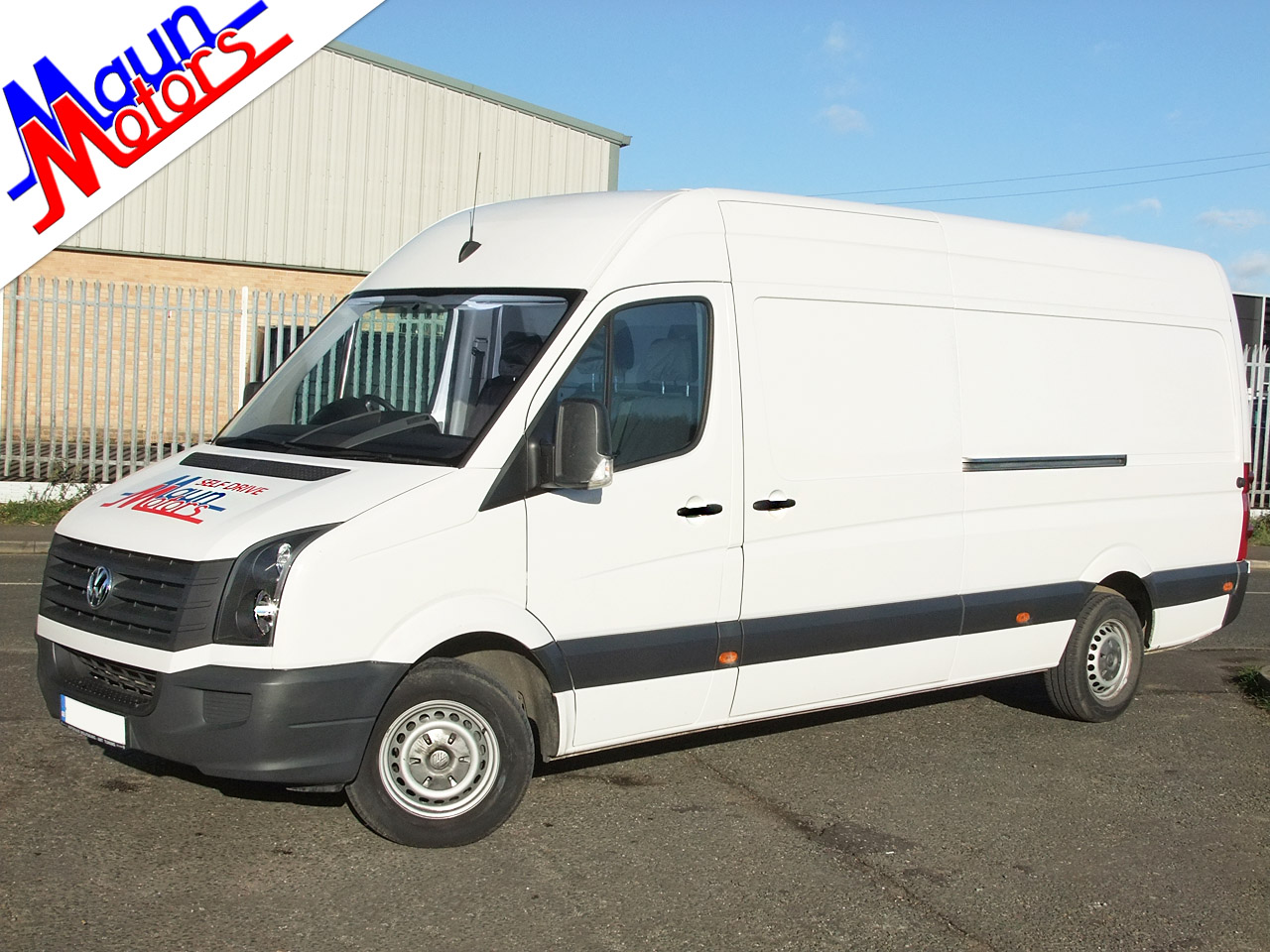 Van Hire - JUMBO XL Long Wheelbase, High Roof Panel Van - L4H3