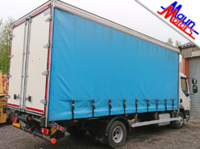 7.5t Curtain-side lorry hire with tail lift 7.5 tonne GVW from Maun Motors Self Drive