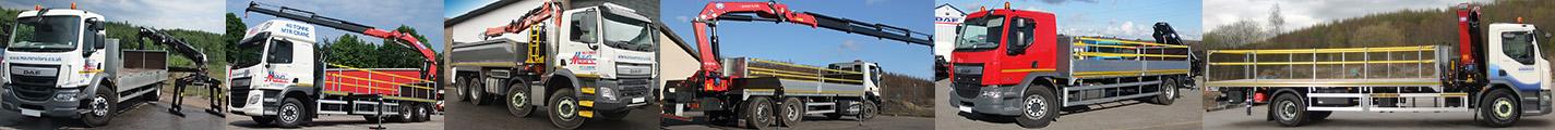 Hiab hire crane lorry Hire