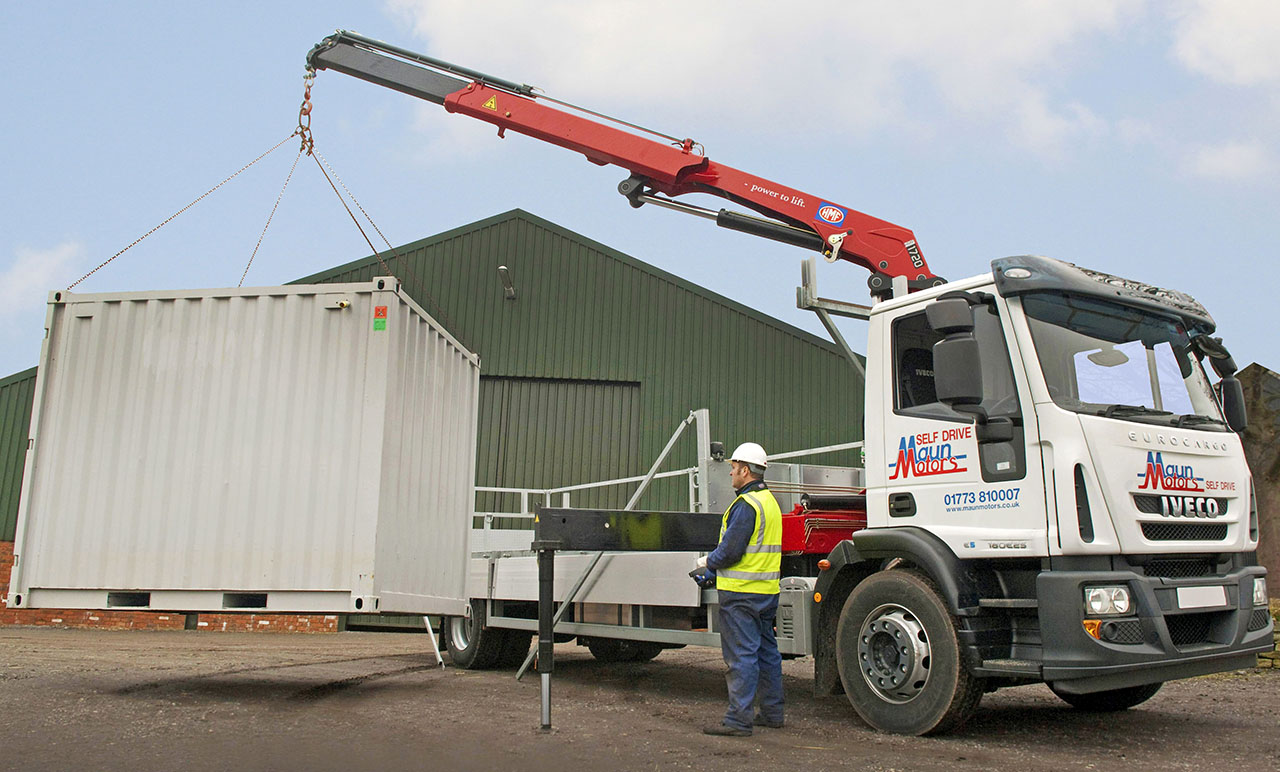 HIAB Lorry (crane lorry)