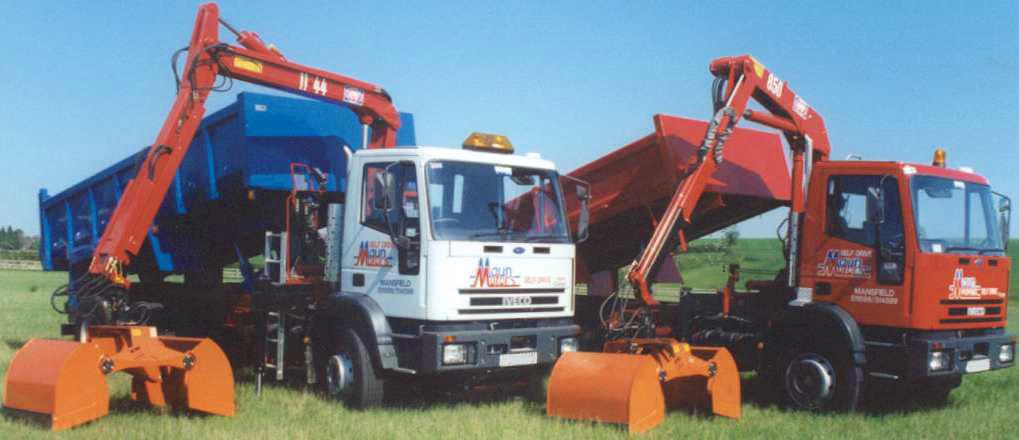 Maun Motors Muckaway Crane Lorry Hire