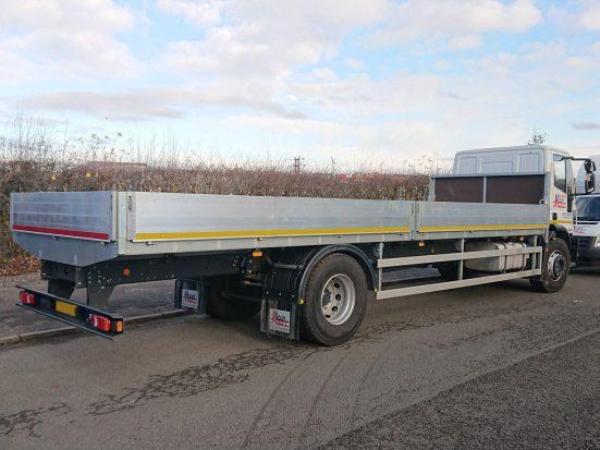 Iveco Eurocargo 18 tonne Dropside Lorry Hire 05