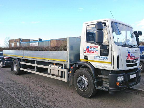 Iveco Eurocargo 18 tonne Dropside Lorry Hire 04
