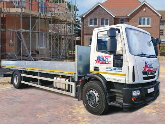 Iveco Eurocargo 18 tonne Dropside Lorry Hire 01