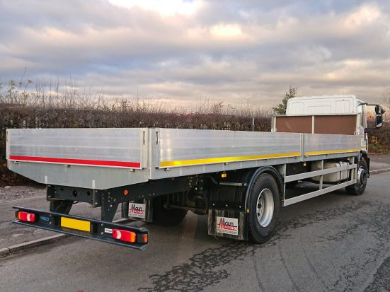 Iveco Eurocargo 18 tonne Dropside Lorry Hire 06