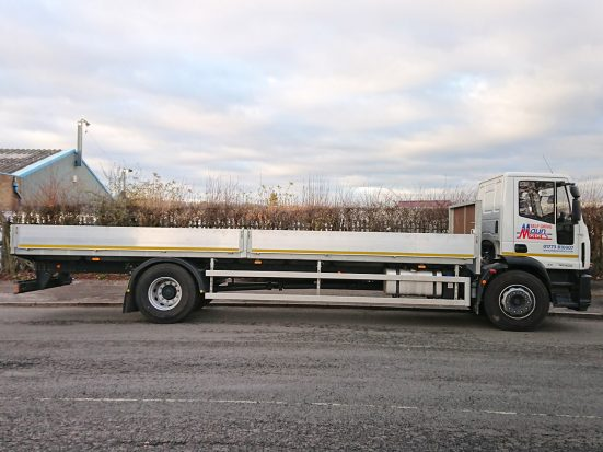 Iveco Eurocargo 18 tonne Dropside Lorry Hire 07