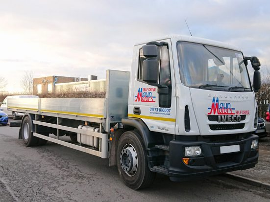 Iveco Eurocargo 18 tonne Dropside Lorry Hire 08