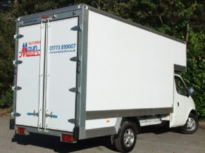 Dropwell luton box van hire for moving home and removals