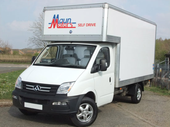 Value luton van hire with tail lift