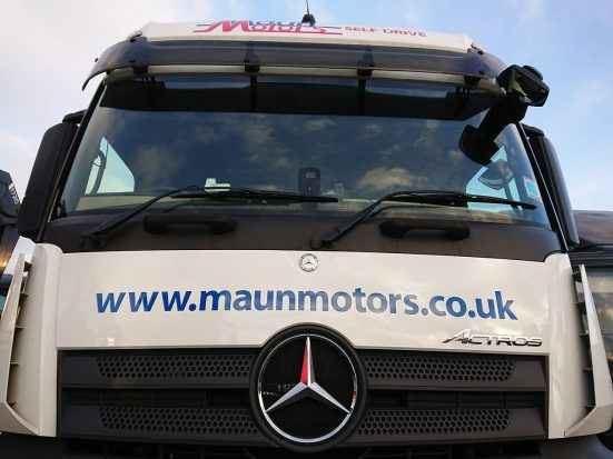 Mercedes-Benz Actros Euro 6 tractor unit hire 05
