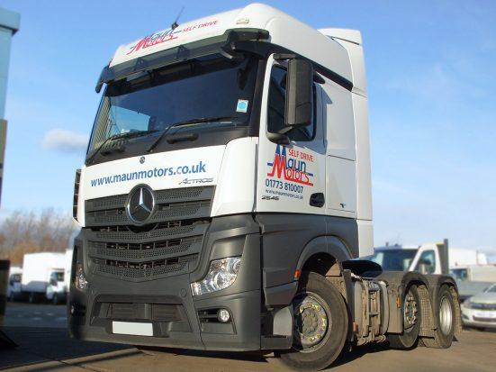 Mercedes-Benz Actros Euro 6 tractor unit rental