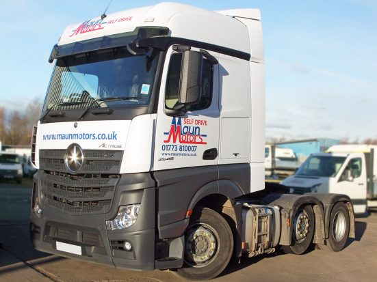 Mercedes-Benz Actros Euro 6 tractor unit hire
