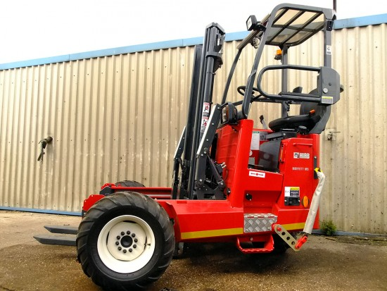 Moffett M5 Truck Mounted Fork Lift Rental 05