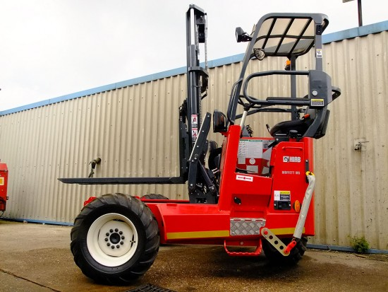 Moffett M5 Truck Mounted Fork Lift Rental 06