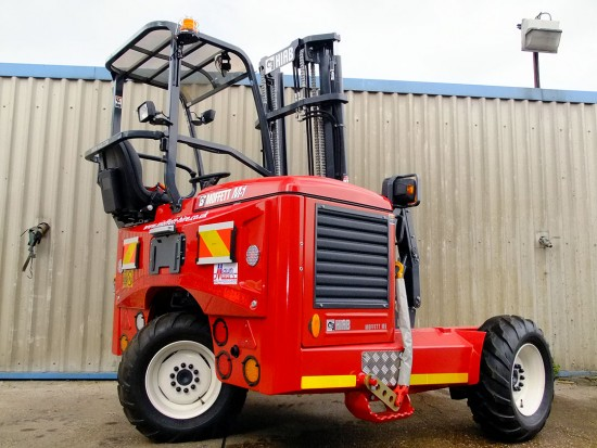 Moffett M5 Truck Mounted Fork Lift Rental 07