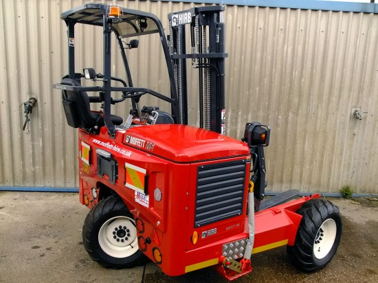 Moffett M5 Truck Mounted Fork Lift Rental 08